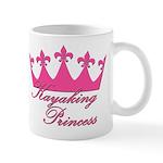 Kayaking Princess - Pink Mug