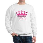 Kayaking Princess - Pink Sweatshirt