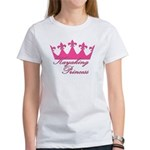 Kayaking Princess - Pink Women's T-Shirt