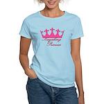 Kayaking Princess - Pink Women's Light T-Shirt