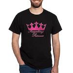 Kayaking Princess - Pink Dark T-Shirt