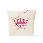 Kayaking Princess - Pink Tote Bag
