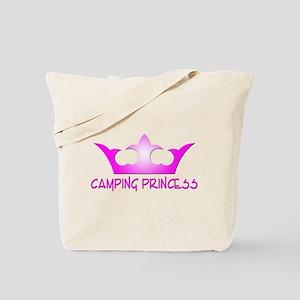 Camping Princess - Hot Pink Tote Bag
