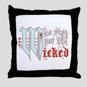 No Rest... Throw Pillow