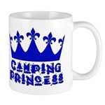 Camping Princess - Blue Mug