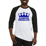 Camping Princess - Blue Baseball Jersey