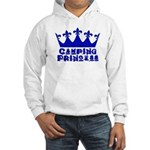 Camping Princess - Blue Hooded Sweatshirt