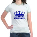 Camping Princess - Blue Jr. Ringer T-Shirt