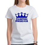 Camping Princess - Blue Women's T-Shirt