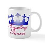 Kayaking Princess - Blue/Pink Mug