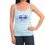 Kayaking Princess - Blue/Pink Jr. Spaghetti Tank