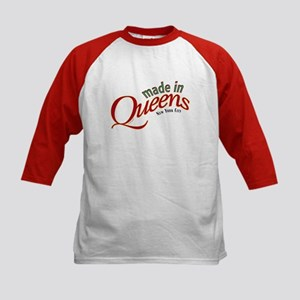 Queens Baby Kids Baseball Jersey