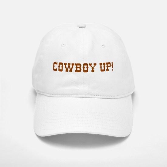 Cowboy Up! Baseball Baseball Cap