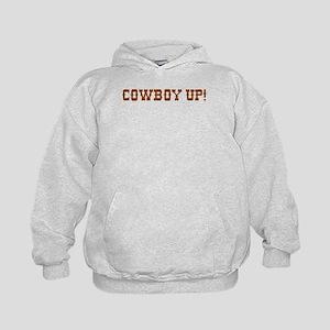 Cowboy Up! Kids Hoodie