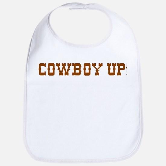 Cowboy Up! Bib
