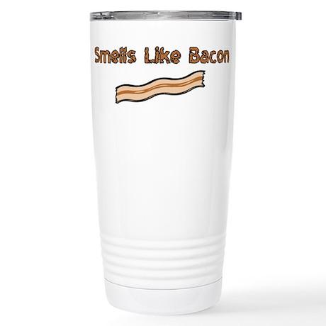 Smells Like Bacon Stainless Steel Travel Mug