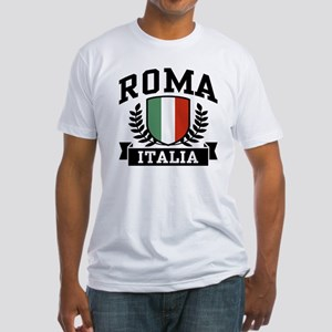 Roma Italia Fitted T-Shirt