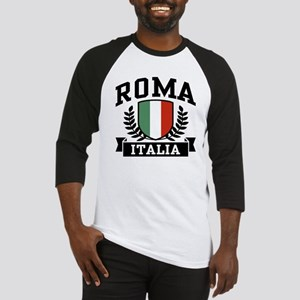 Roma Italia Baseball Tee