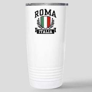 Roma Italia 16 oz Stainless Steel Travel Mug