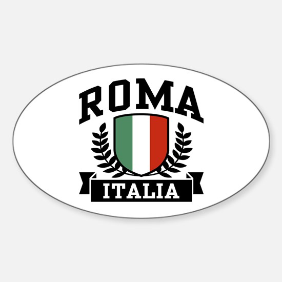 Roma Italia Sticker (Oval)