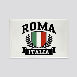 Roma Italia Rectangle Magnet