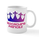 Geocaching Princess Blue/Pink Mug