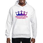Geocaching Princess Blue/Pink Hooded Sweatshirt