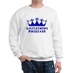 Geocaching Princess - Blue Sweatshirt