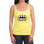 Geocaching Princess - Blue Jr. Spaghetti Tank