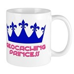 Geocaching Princess - Blue 2 Mug