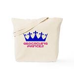 Geocaching Princess - Blue 2 Tote Bag