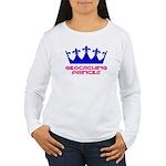 Geocaching Princess - Blue 2 Women's Long Sleeve T