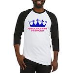 Geocaching Princess - Blue 2 Baseball Jersey