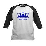 Geocaching Princess - Blue3 Kids Baseball Jersey