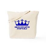 Geocaching Princess - Blue3 Tote Bag