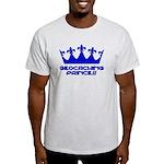 Geocaching Princess - Blue3 Light T-Shirt