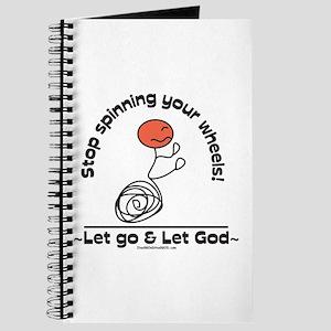 Let go, Let God! Journal