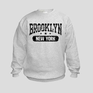 Brooklyn New York Kids Sweatshirt