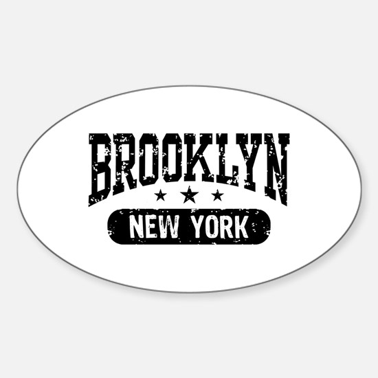 Brooklyn New York Oval Decal