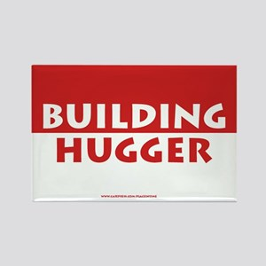 Building Hugger Rectangle Magnet