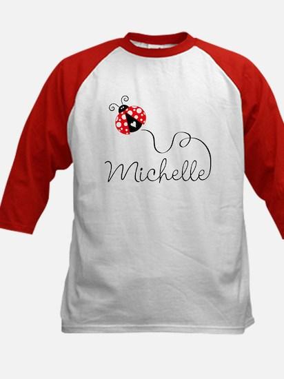 Ladybug Michelle Kids Baseball Jersey