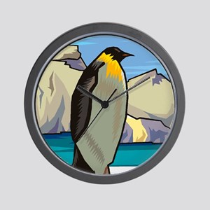 Penguin-4 Wall Clock