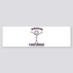SURVIVOR Bumper Sticker