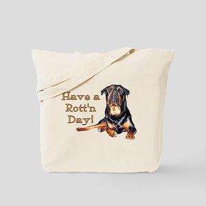 Rottweiler Rott'n Day Tote Bag