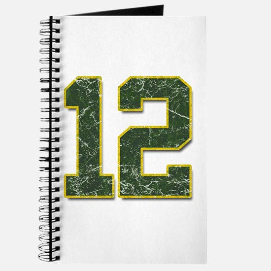 12 Aaron Rodgers Packer Marbl Journal