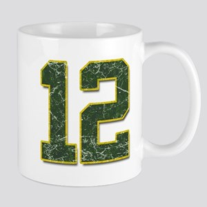 12 Aaron Rodgers Packer Marbl Mug