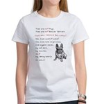 THEY are not Pugs (Serious Frenchie) Women's T-Shi