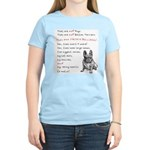 THEY are not Pugs (Serious Frenchie) Women's Light