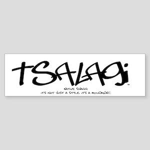 Tsalagi Tag Bumper Sticker