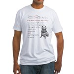THEY are not Pugs (Smiling Frenchie) Fitted T-Shir